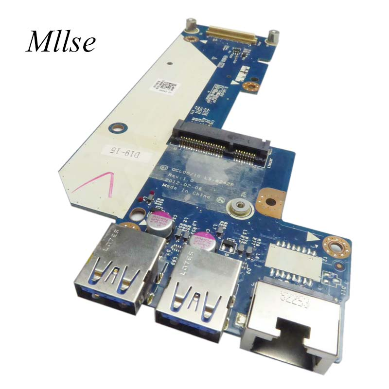 Free Shipping USB Ethernet Wifi Wireless Daughter Board 962WP 0962WP CN-0962WP For Dell  15R 5520 QCL00/10 LA-8242P 100% Working