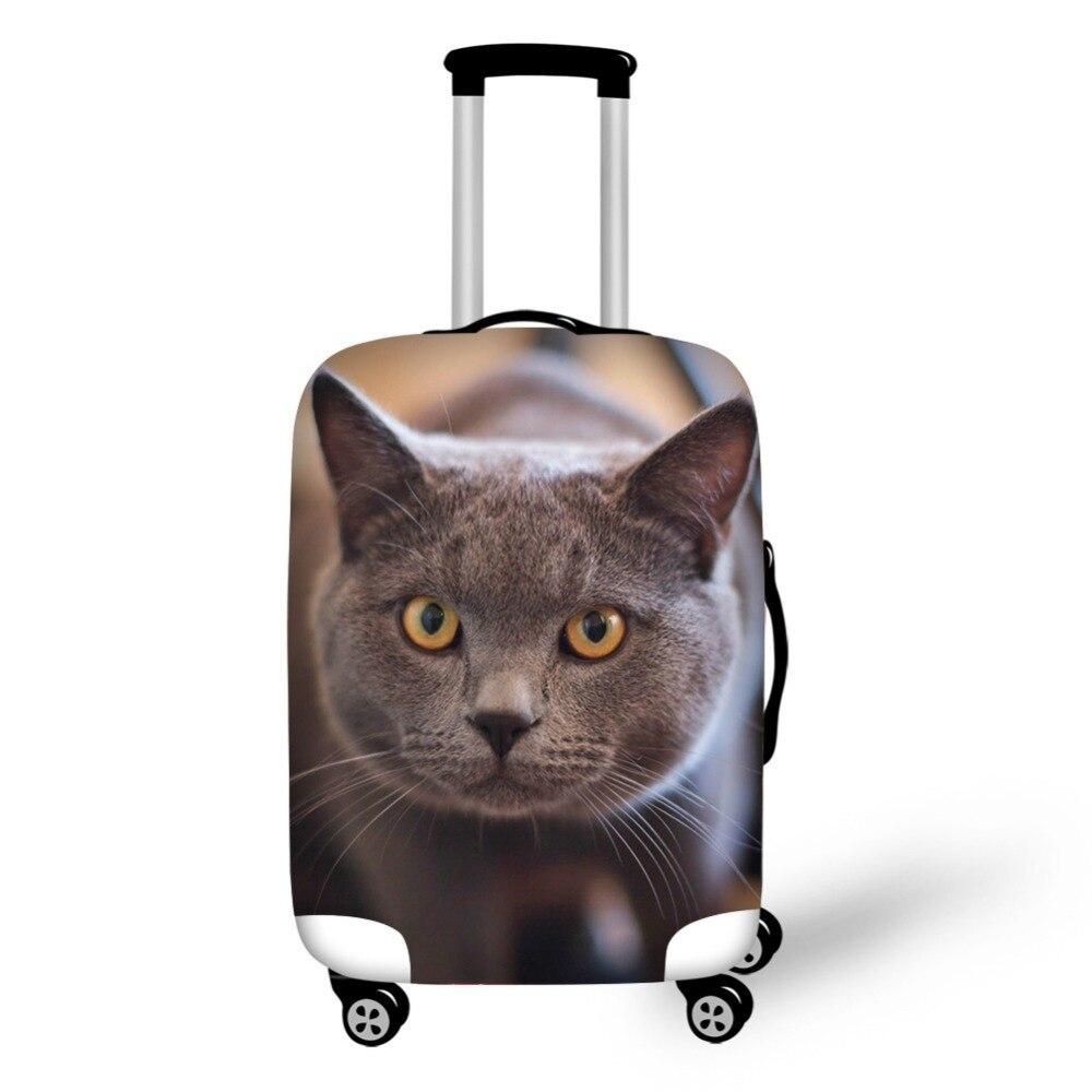 Djurkattmönster Elastiskt bagageskyddskåpa Dragkedja för 18-30 - Resetillbehör - Foto 2