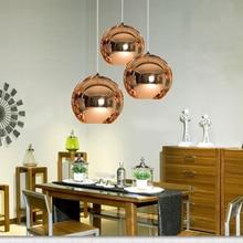 цена на JAXLONG Glass Ball Pendant Lights Kitchen Dining Room Bar Cafe  Pendant Lamp Modern Christmas Glass Ball Lighting Luminaire