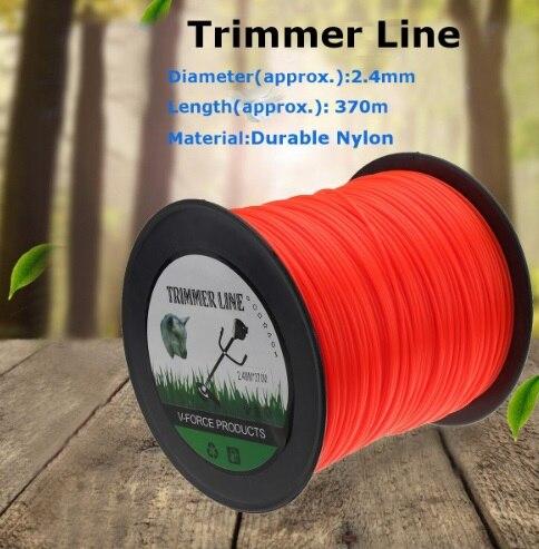 New Model 5LB Spool Pack- 2.4mm Trimmer Line , Nylon Line, Brush Cutter Parts For Brush Cutter,Grass Trimmer
