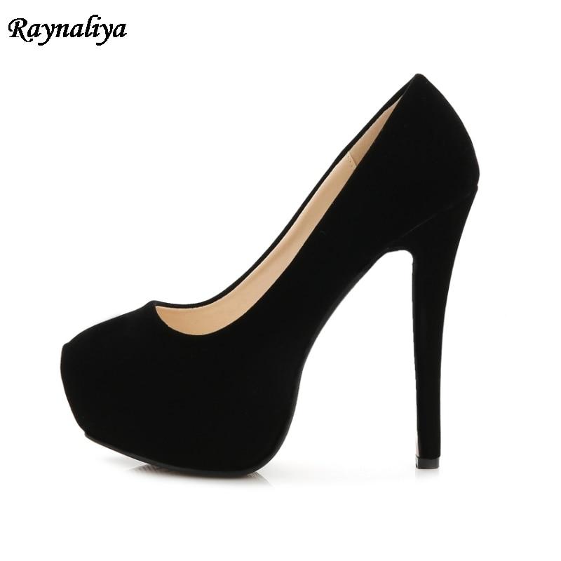 Bombas Chica 14cm 14 14cm Finos Rojo Zapatos Para Height Primavera Heel Otoño Oficina Casual Moda Cm Height b0007 Slip 2018 De Tacones Ms wUZF61nq