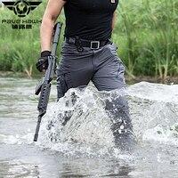 IX9 Stretch Hiking Pants Men Outdoor Sports Trekking Camping Fishing Cargo Waterproof Women Trousers Military Tactical Pants