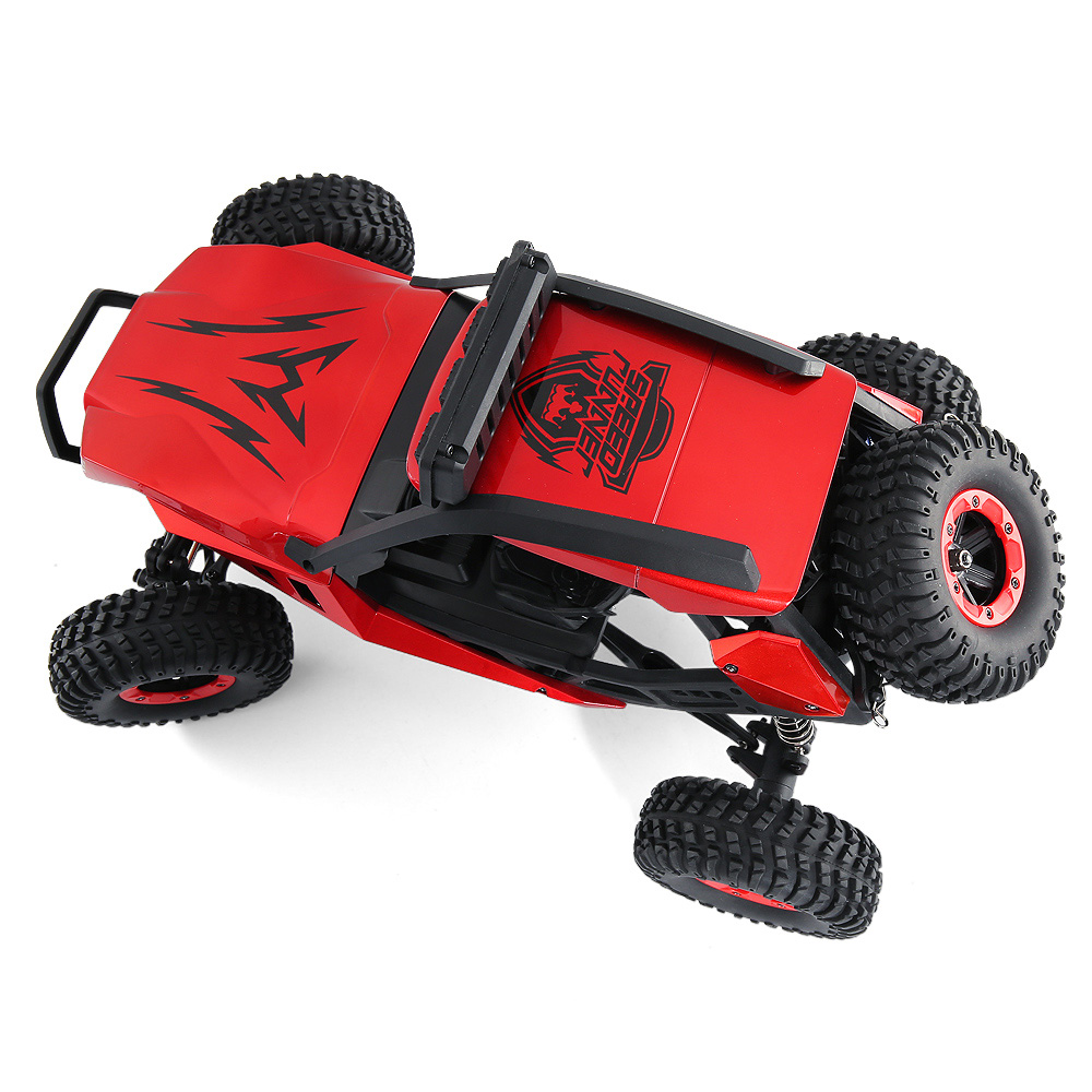 JJRC JJRC Q46 112 2.4G RC Car 4WD 45kmh High Speed Rock Crawler Desert Buggy Cars RTR for Kids Children Gifts RC Toys (15)