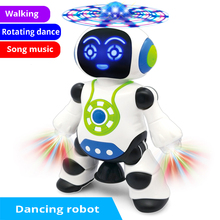 Robot Light Singing Dancing Toy Walking Intelligent Lol Toys For Boys Action Figure Early Childhood Dolls