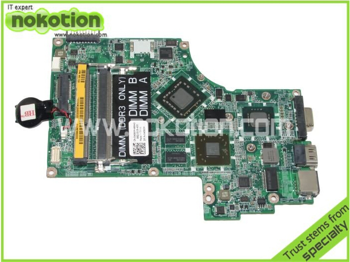 04580M DA0UM2MBAC0 Laptop motherboard For Dell inspiron 14Z 1470 INTEL WITH SU7300 CPU DDR3 Mainboard