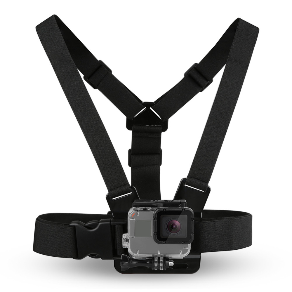 Chest Strap Black Harness Belt Strap for SJCAM SJ4000 SJ5000 GoPro Session Hero 5 4 3 Hero5 Hero4 Xiaomi Yi 4K Accessories