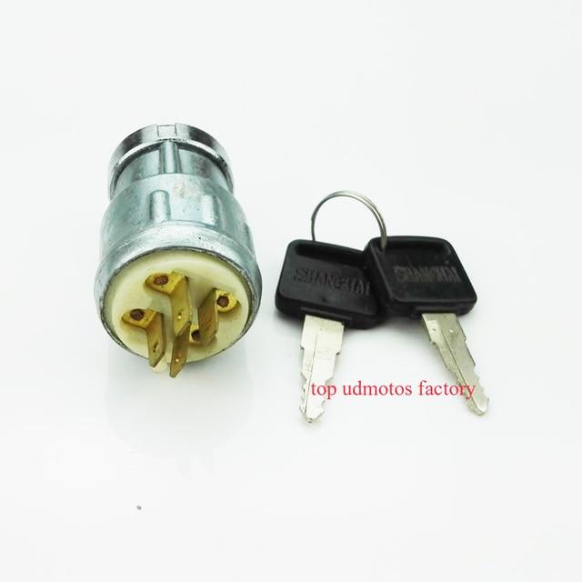 Retro Style Motorcycle k750 Ignition switch key For B-MW r71, Dnepr.Ural moto m72