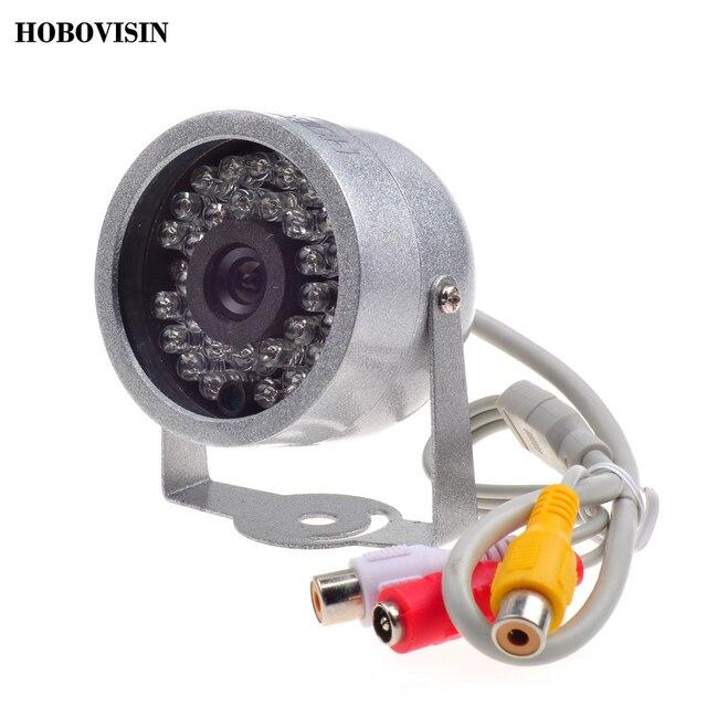 CMOS 700TVL С Аудио видеонаблюдения 30 СВЕТОДИОДОВ ночного видения Безопасности Открытый Цвет металлический корпус Cctv Камеры