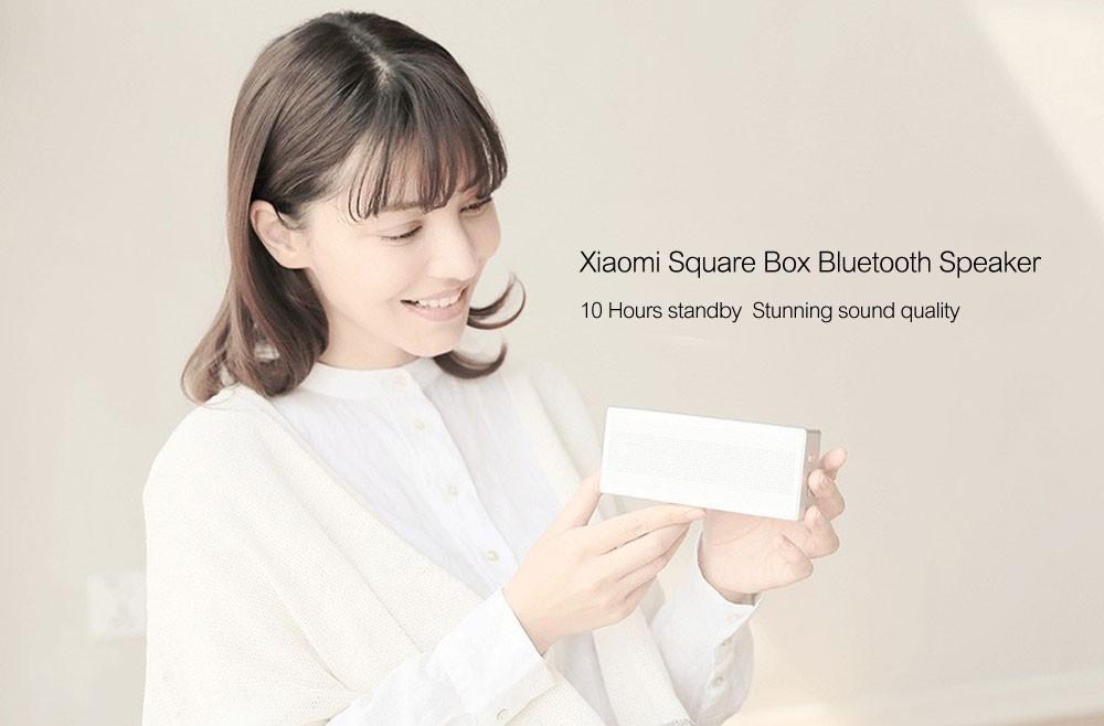 Original Xiaomi Mi Bluetooth Speaker Square Box Stereo Wireless Mini Portable Bluetooth Speakers Music MP3 Player Bluetooth 4.0 (8)