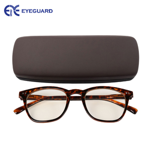 Image 2 - EYEGUARD Anti Reduce Blue Rays Light Unisex Spring Hinges Computer Reading Glasses Readers UV Protection Anti Glare Eyewear Demi
