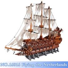 ФОТО lepin 16016 3652pcs moc the flying the netherlands figures building blocks bricks set kid toy model kits gift compatible legoing