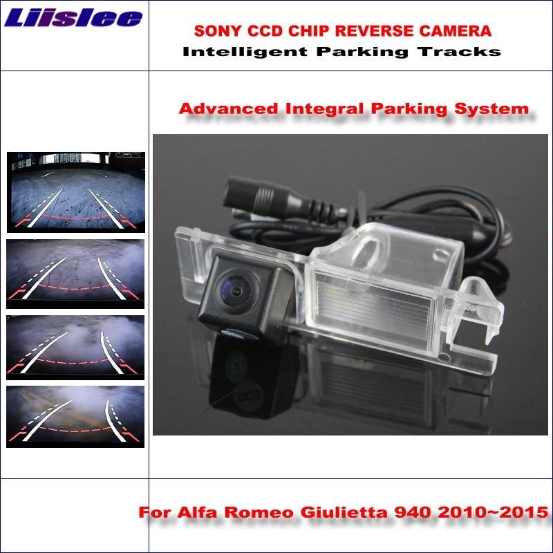 Liislee High Quality 3089 Chip Intelligentized Rear Camera For Alfa Romeo Giulietta 940 2010-2013 NTSC PAL RCA AUX HD SONY