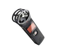 In Stock!Lightweight Zoom H1 Handy Digital Recorder Stereo Recording Pen for Interview DSLR Microphone  (Windscreen+Card )