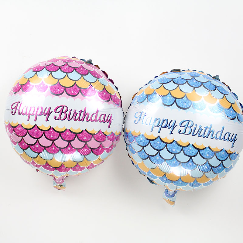 Wholesale 100pcs/lot 18inch Foil birthday Balloons for man/woman Party Decoratio