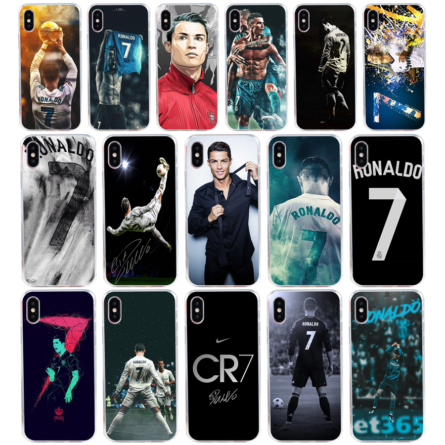 200h Cool Cristiano Ronaldo Cr7 Soft Silicone Tpu Cover Phone Case For Iphone 5 5s Se X Xr Xs Max Case Durable In Use
