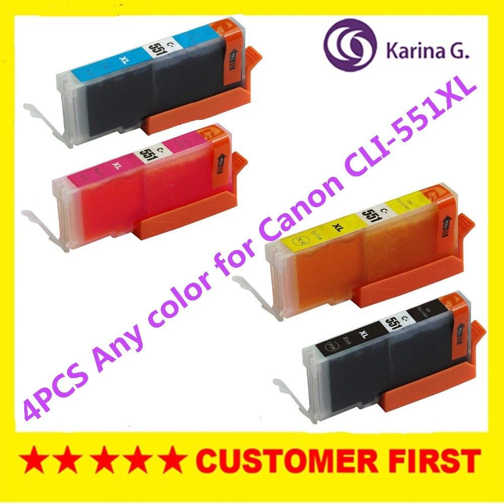 Чернильный картридж PIXMA MG5450/MG5550/MG6350/MG6450/MG7150/Ip7250/MX925/MX725, любой цвет, 4 шт.