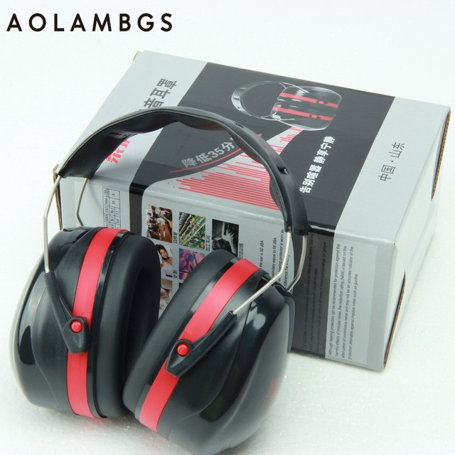 Fone de Ouvido tático Protetores de Ouvido Audição Muffs Earmuffs 35dB Protetores de Ouvido Tiro Caça Militar À Prova de Som de Redução de Ruído