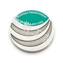 Badge, commemorative metal corporate