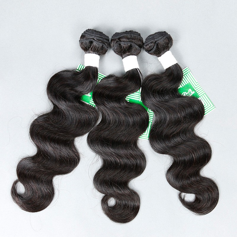 Sleek Brazilian body wave 3 bundles, 7A Brazilian virgin hair body wave, unprocessed Brazilian hair weave bundles human hair (3)