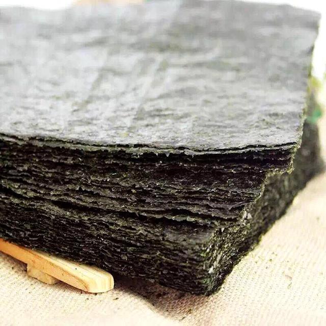 100PCS / set of high quality sushi seaweed, Japanese seaweed sushi dry green food, hot sushi kelp snacks wholesale free shipping
