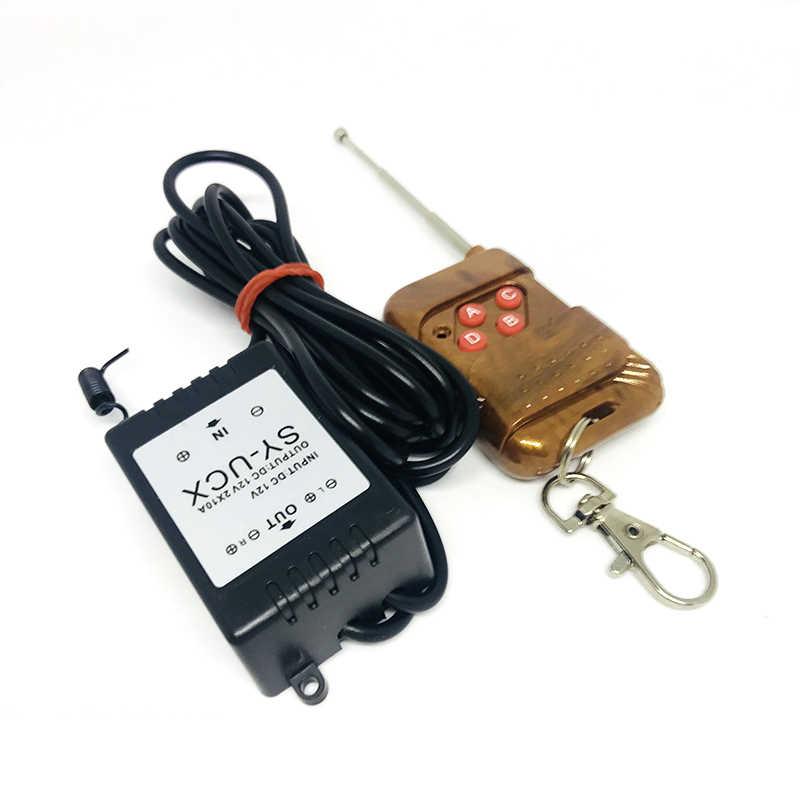Горячая 12 V беспроводной модуль дистанционного управления стробоскоп вспышка для авто для грузовиков Лампы светодиодные световые полоски Автомобильные аксессуары