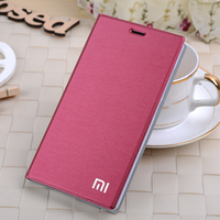7 Color Original Brand For Xiaomi Red Rice Redmi Note 2 Flip Leather Cover Bags Redmi