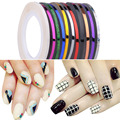 Ampliar Rollo Striping Line Tape Nail Art Sticker Decoración de Uñas Belleza Pegatinas Para Uñas