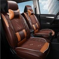 Автомобиль Подушки Чехлы для сидений мотоциклов Универсальный 3D автомобиль Стайлинг кожа автомобильные Салонные аксессуары Чехлы для сид