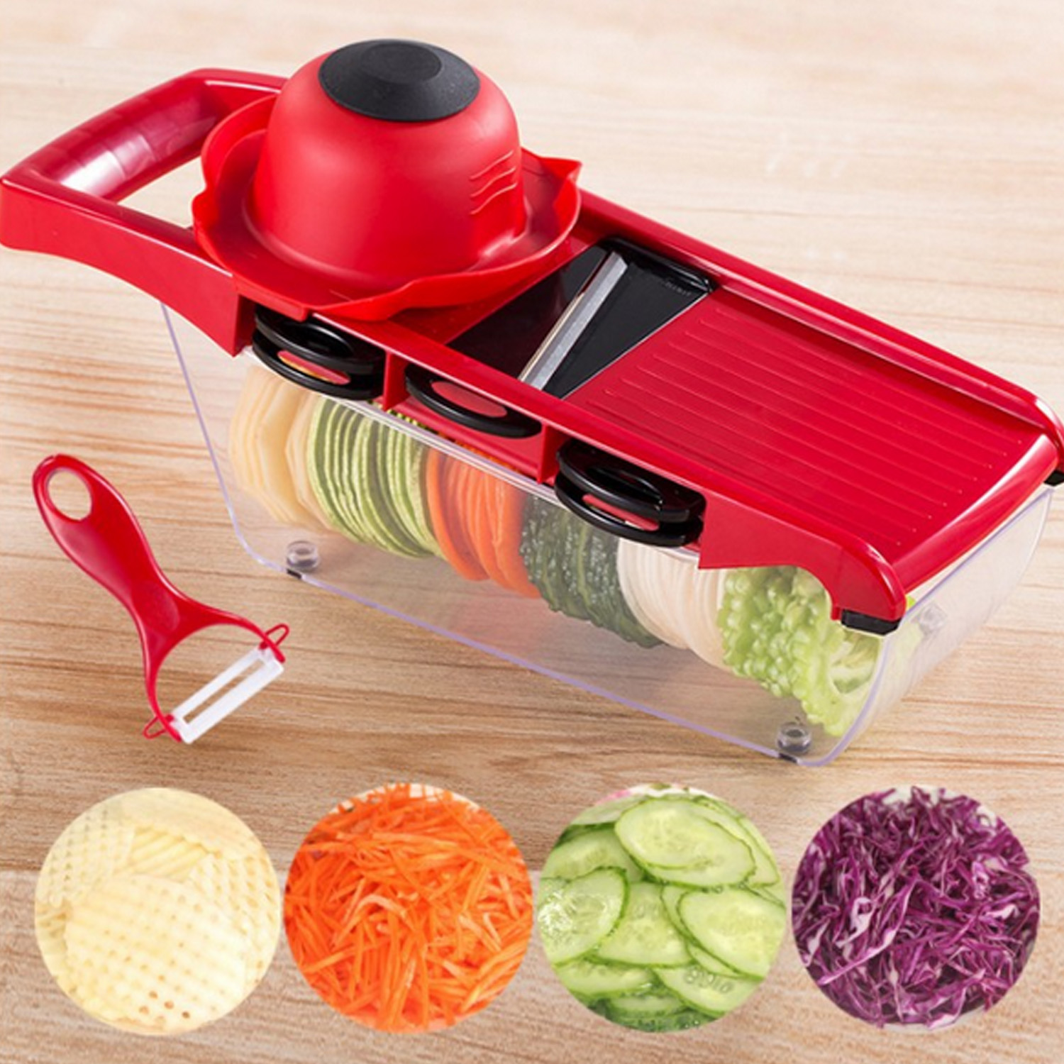 Kitchen Tools & Gadgets Kitchen, Dining & Bar Ceramic Peeler Fruit Vegetable Carrot Potato Spud Speed Slicer Cutter Helper In Pain