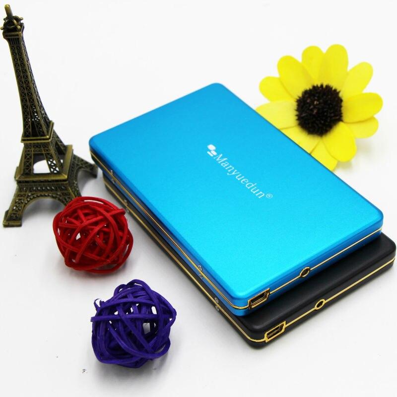 """Disque dur externe HDD Manyuedun 100gb haute vitesse 2.5 """"disque dur pour ordinateur de bureau et ordinateur portable Hd Externo 100G disque dur externe"""