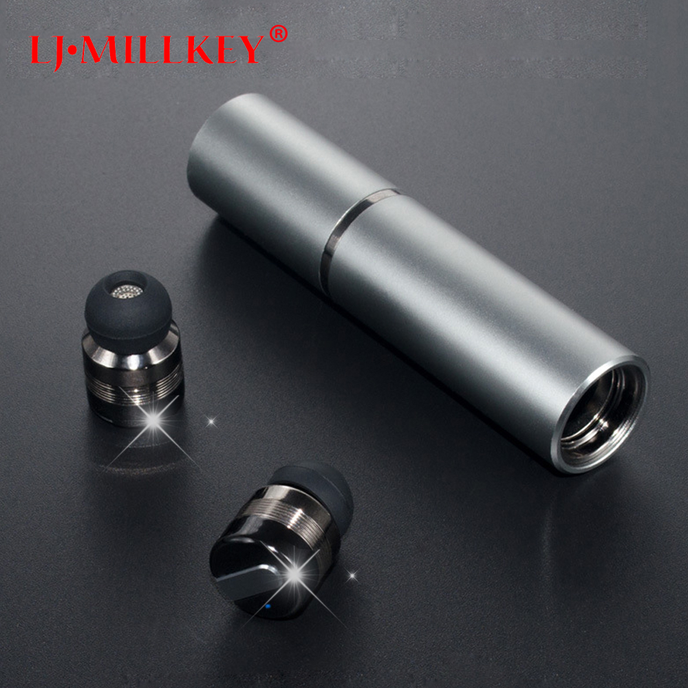 Bluetooth Earphone with Mic Mini Control Hifi Wireless Headset TWS Wireless Earbuds for Phone with Charger Box YZ144