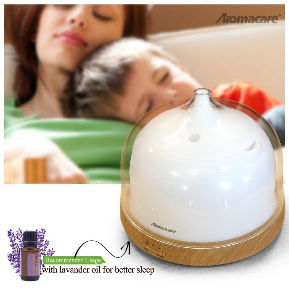 Aromacare Aroma Essential Oil Diffuser- ը 200 մԼ փայտի - Կենցաղային տեխնիկա - Լուսանկար 6