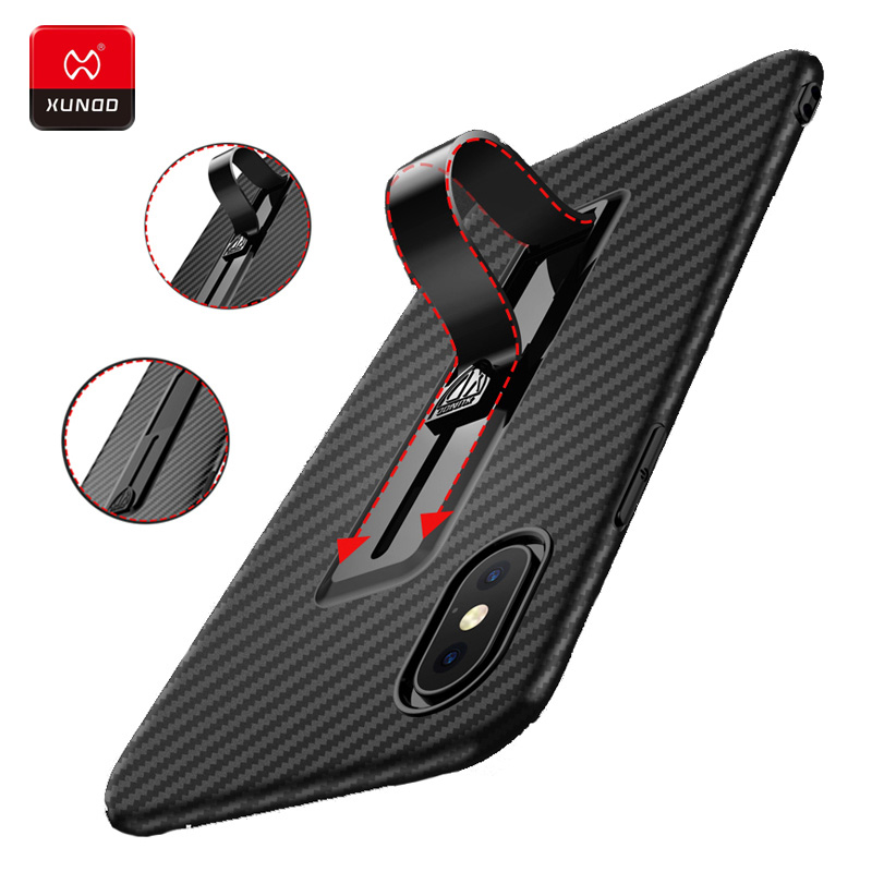Luxury Ultra thin 360 Shockproof Phone Case For iPhone X XS Max XR 6 6S Plus Silicone Finger Ring Protective Full Cover Cases in Fitted Cases from Cellphones Telecommunications