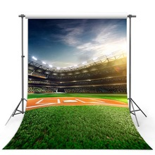 Vinyl Photography Background Stadium Football Field Soccer Match Children Fotografia Backgrounds for Photo Studio soap stadium inflatable water soccer field inflatable football field with