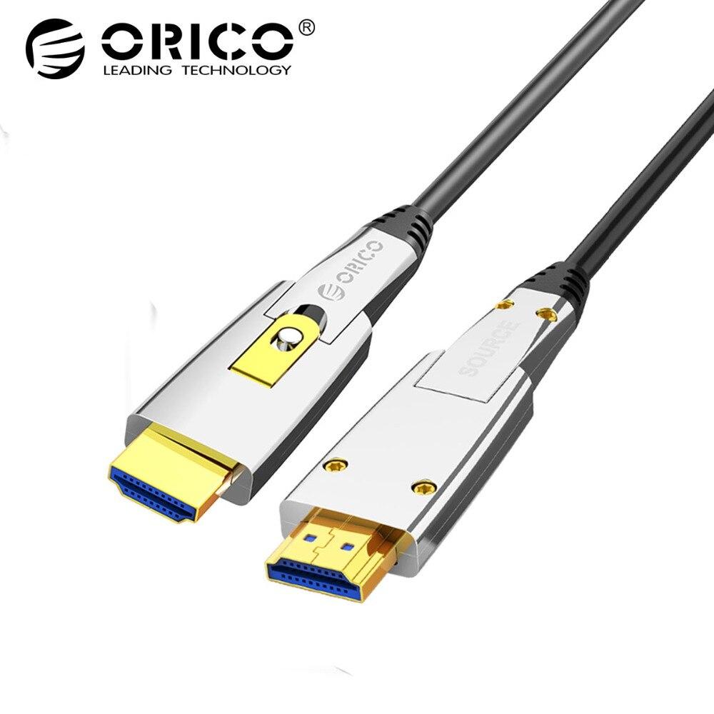 ORICO HDMI à HDMI/Micro HDMI Câble 4 K 60 HZ 18 Gbps 2 dans 1 Commutateur Librement HDMI2.0 câble pour TV projecteur pour pc ordinateur portable