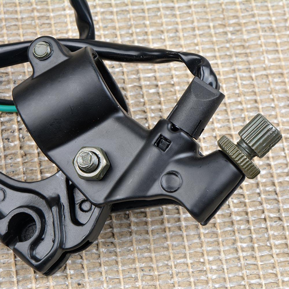 Color : L and R For Yamaha YB125 manija manija de Palanca de Embrague de la Motocicleta del Interruptor del Freno Delantero Palanca Luz de Freno por Cable for Yamaha YBR 125cc 125 5VL
