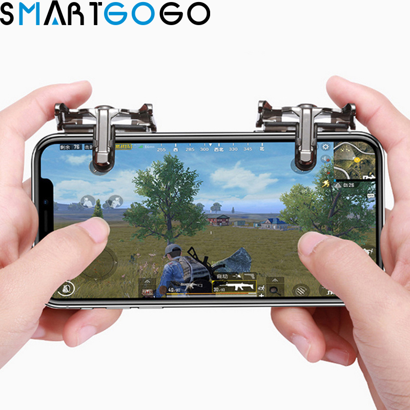 Phone gaming pubg mobile gamepad game controller android/ios shooter button smartphone joystick Phone gaming