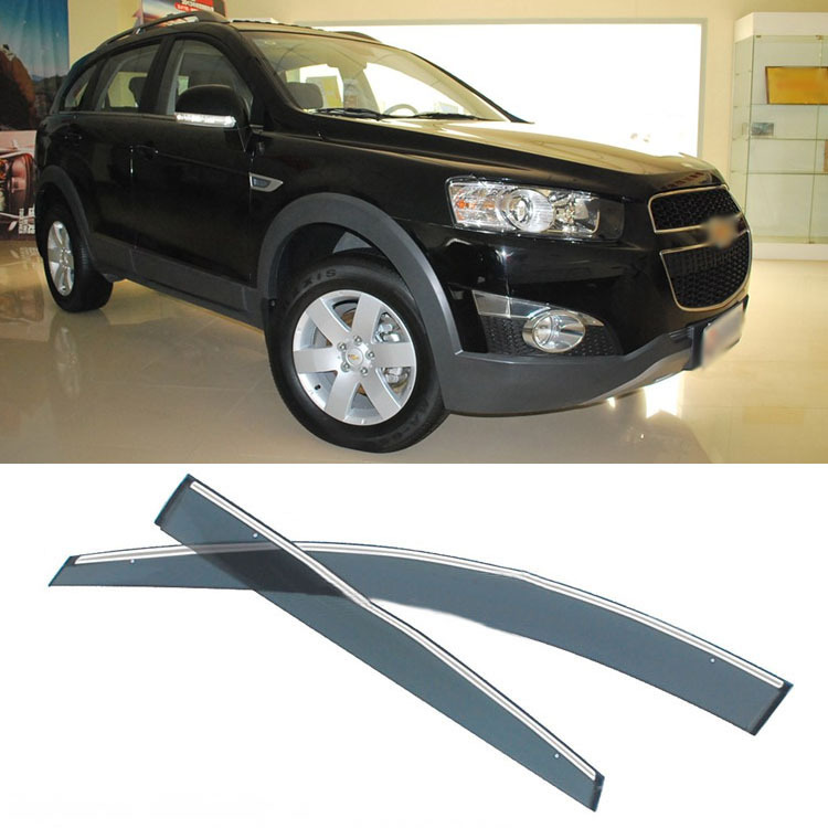 Jinke 4pcs Blade Side Windows Deflectors Door Sun Visor Shield For Chevrolet Captiva jinke 4pcs blade side windows deflectors door sun visor shield for peugeot 408 2010 2013
