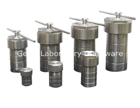 50ml Teflon Lined Hydrothermal Synthesis Autoclave Reactor (Customizable)
