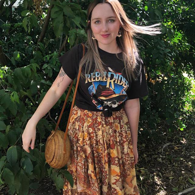 Rebel Rider Gypsy Boho T-Shirt