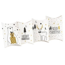 Merry Christmas Candy Gift Boxes Deer Xmas Tree Guests Packaging Boxes Gift Bag Christmas Party Favors Kids Gift Decor merry christmas candy gift boxes deer xmas tree guests packaging boxes gift bag christmas party favors kids gift decor