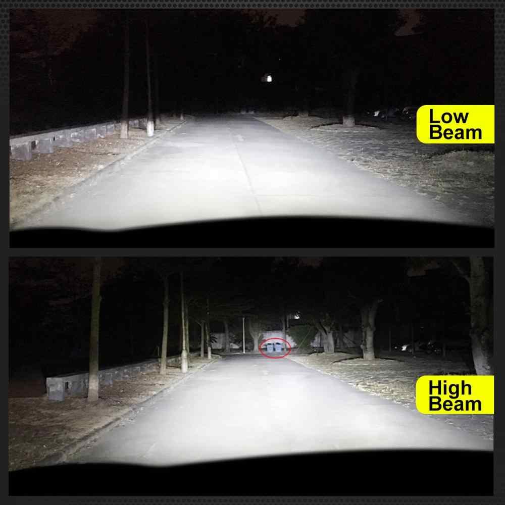 2Pcs H1 H7 Led Canbus H8 H11 HB3 9005 HB4 9006 Led Headlights Bulbs 8 Sides 60W 15000LM Car Light Auto Lamp Automotive