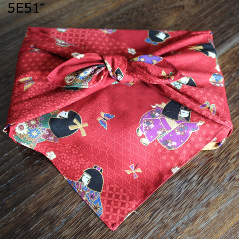 Japanese style big handkerchief kerchief cotton 100%/cartoon dolls printed/Many uses