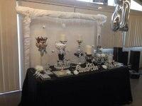 8FT Banquet Black Rectangular Sequin Table Cloth 90x156inch Sequin Tablecloths For Wedding Sequin Table Linens Events