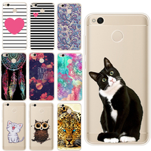 GerTong Phone Case for Xiaomi Redmi 4A 4X Note 4 Pro 3S mi 5 6 Max 2 MIX Painted Pattern Cover for Redmi Note 4X Coque Fundas