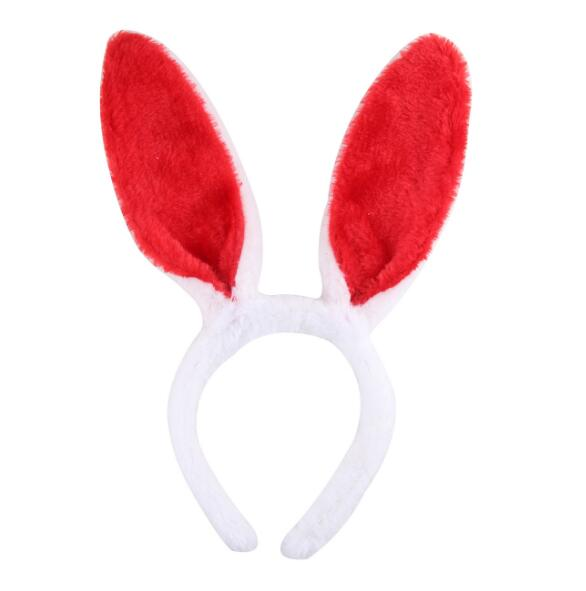 Cute Easter Bunny Ears Rabbit Headband Gift Party Fancy Dress Cosutume Kids Girl Nice Hairwear in Hair Accessories from Mother Kids
