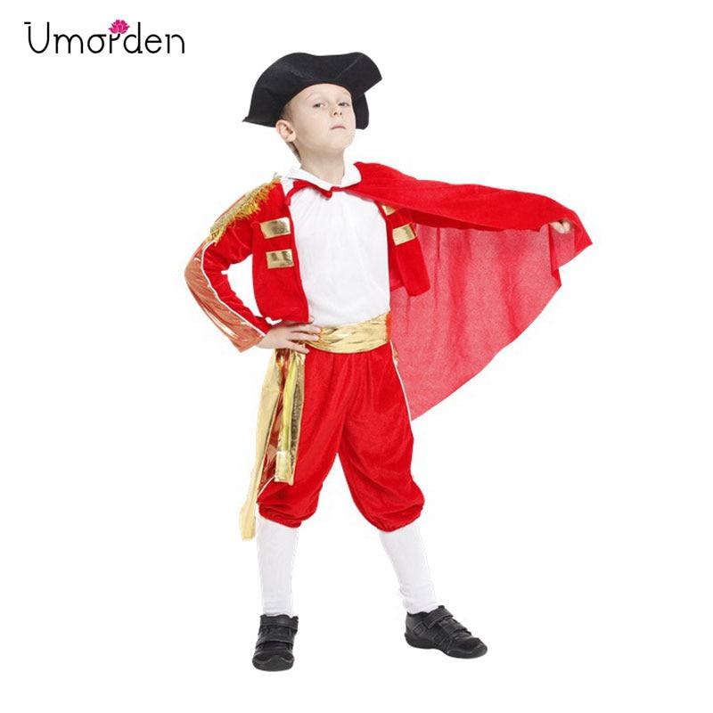 Italian Made Baby Older Boys Spanish Matador Fancy Dress Costume Outfit 0-10ys