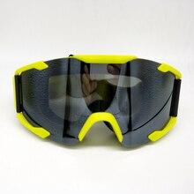 Yellow Frame Motocross Motorcycle Dirt Bike Cycling Bicycle Racing Dust proof Goggles Skiing Snowboard Windproof Eyewear