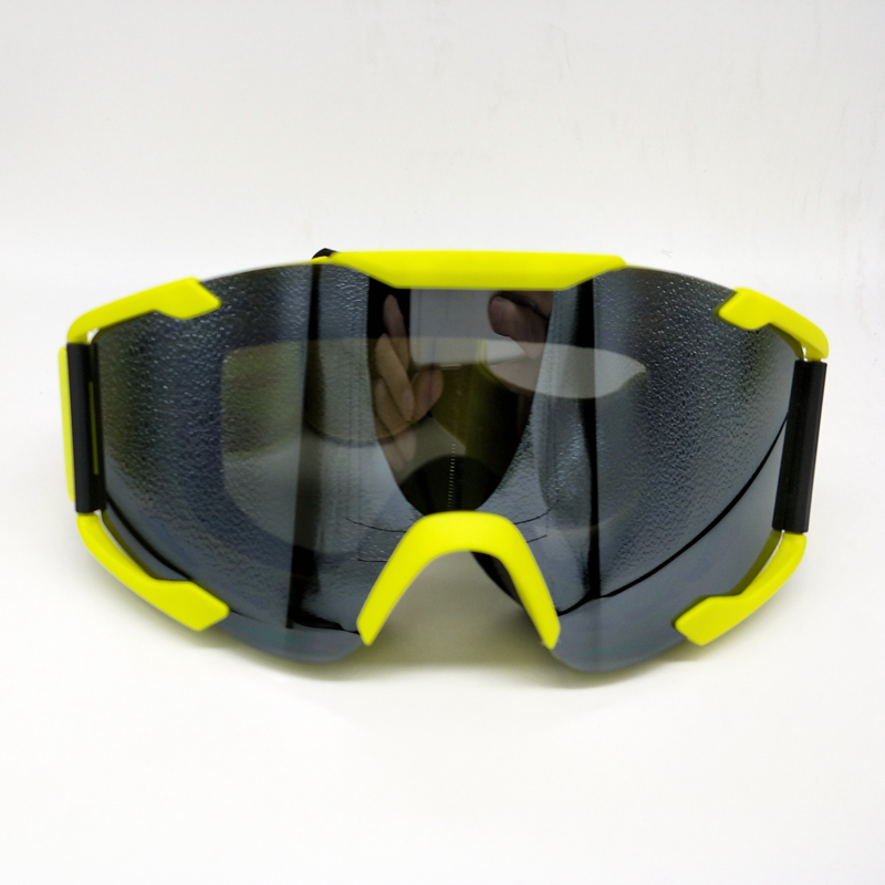 Yellow Frame Motocross Motorcycle Dirt Bike Cycling Bicycle Racing Dust-proof Goggles Skiing Snowboard Windproof Eyewear Glasses