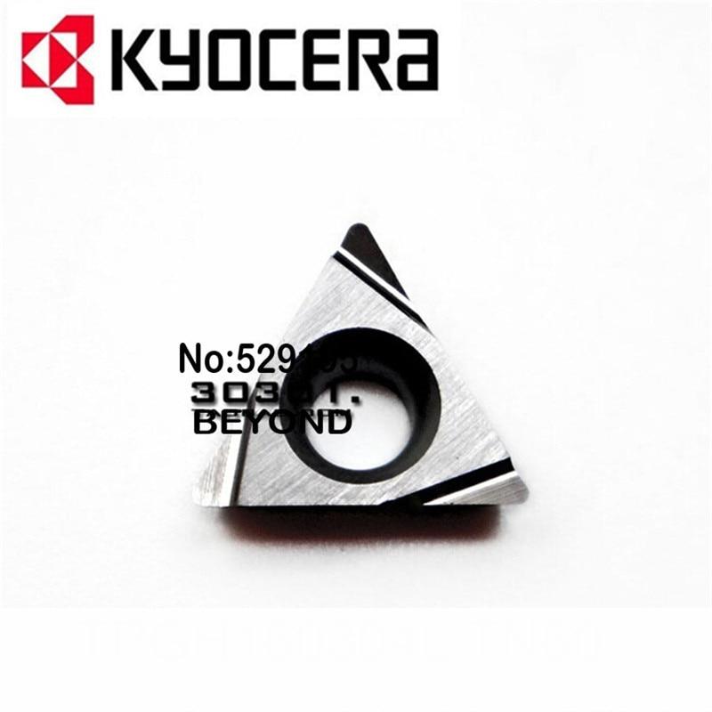 TPGH110302L TN60 TPGH110304L TN60 kyocera original carbide insert turning cnc cutting tool machine holder boring bar